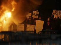 Milo Yiannopoulos speech suppressed, Berkeley.