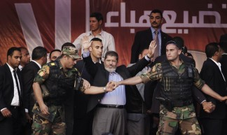 Morsi election speech, Tahrir