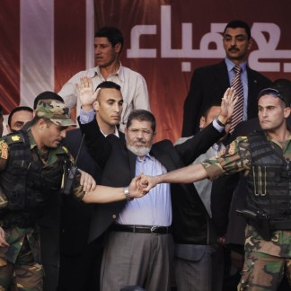 Morsi election speech, Tahrir